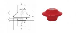 Immagine e disegno isolatori CAMPANA