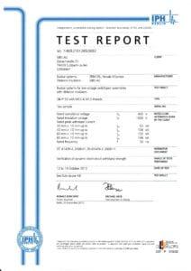 Test isolatori cortocircuito EN 61439-2